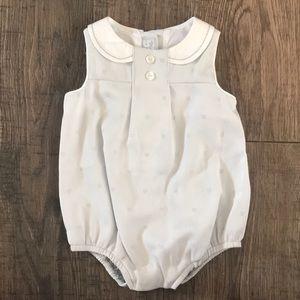Other - Gray Newborn Bubble Onesie